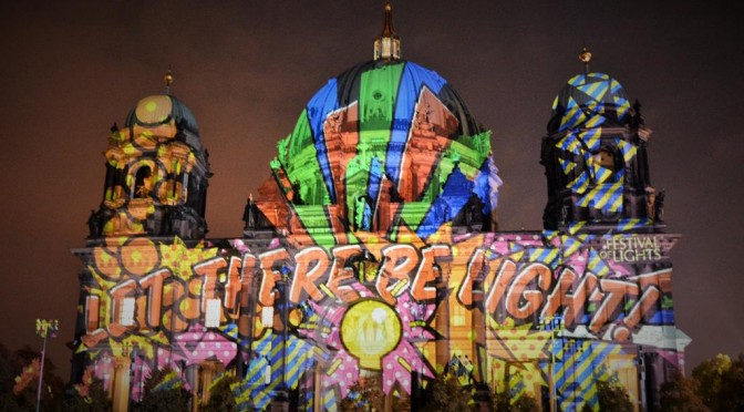 Let there be light: Festival of Lights in Berlin