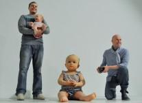 Figurenwerk Berlin: Babys sind ein beliebtes Motiv