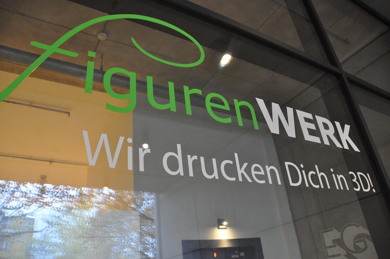 Das Figurenwerk Berlin druckt dich in 3D