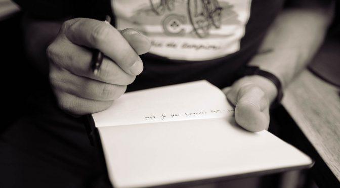 Aus dem Leben eines Schreiberlings