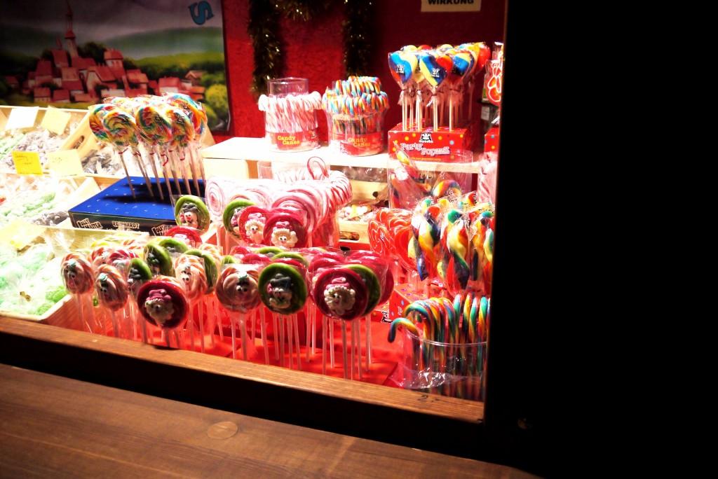 Weihnachtsmarkt Berlin: Weihnachtliche Lollipops