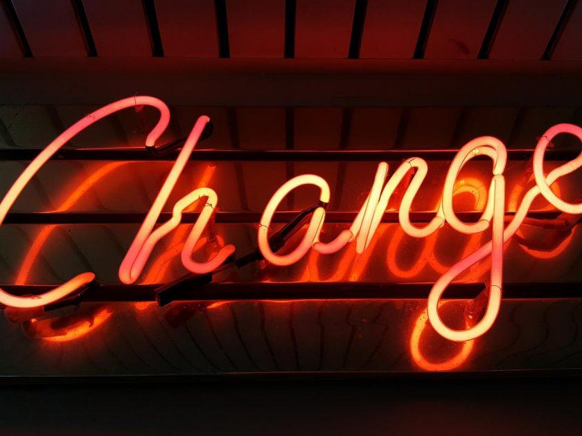 The Re-invention roller coaster: Wenn change nicht mehr ausreicht